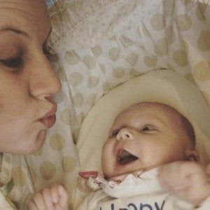 being a new mom and finding a routine