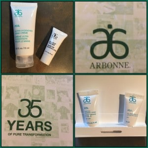 Arbonne products for baby and me