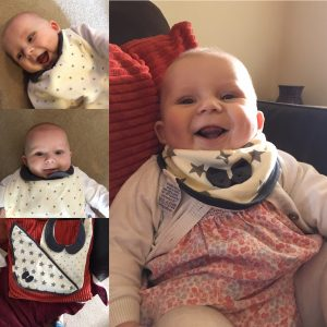 Funky Giraffe bibs review and giveaway