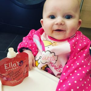 Our Weaning Journey so far with Ella's Kitchen