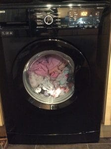 as a parent the washing machine doesnt stop