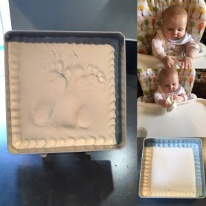 Beautiful keepsakes with BabyArt : review
