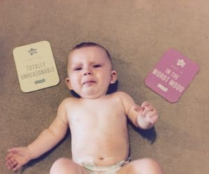 Tommee Tippee milestone cards : review and giveaway #Parenton