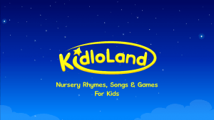Interactive fun with Kidloland review and giveaway