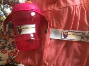 organised ready for nursery