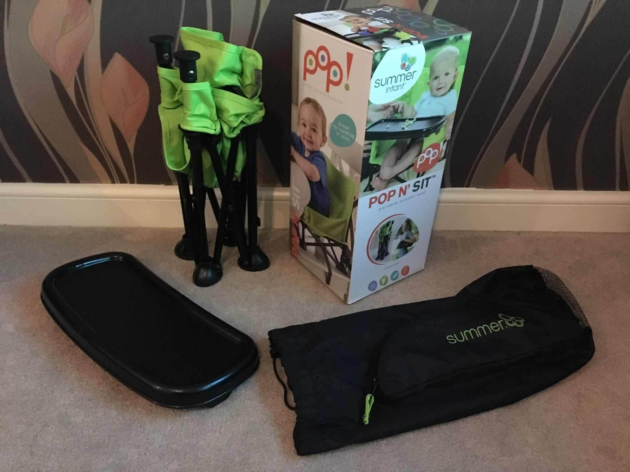 Pop N Sit Booster Chair For Children By Summer Infant Review