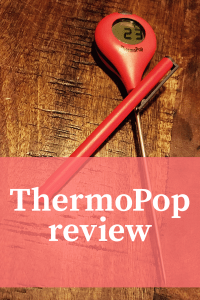 Making sure your food is hot with ThermoPop : Review