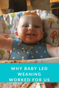 Why baby led weaning works for us