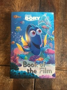 Finding Dory , the book of the film from Parragon books: Review