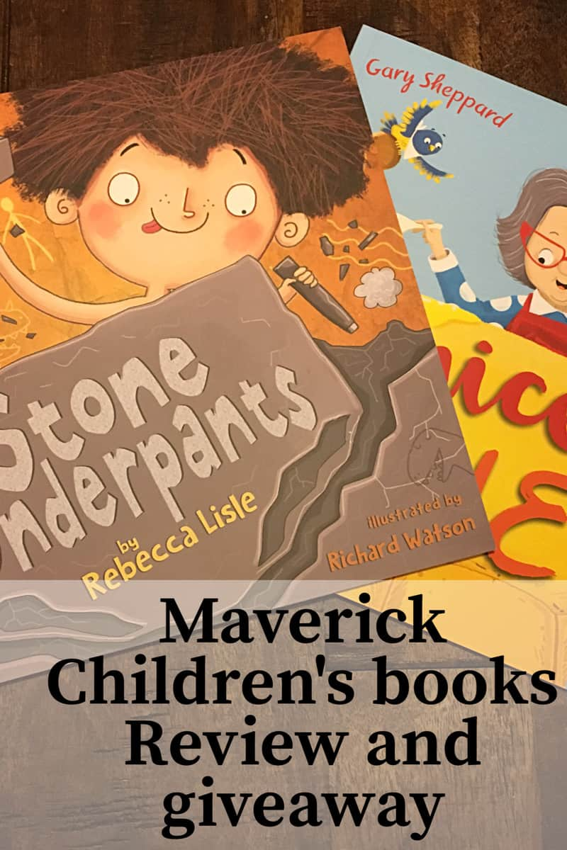 Maverick children's book review and giveaway