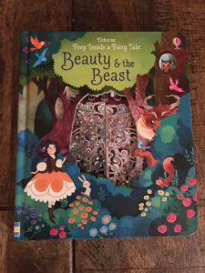 Usborne beauty and the beast flap and lift book
