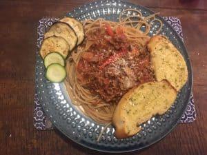 spaghetti bolognaise dolmio