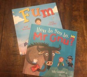 Maverick arts publishing Mr Gnu and Fum