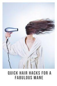 hair hack for busy moms on the go #hair #momhair #hairhacks