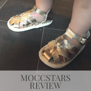 Moccstars baby and toddler shoes : review