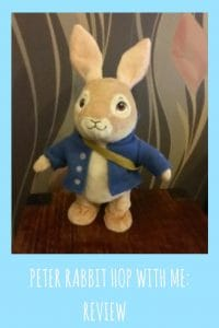 Peter Rabbit is a lovable bunny and this plush jumping rabbit will make the perfect toy for any peter rabbit fans out there !