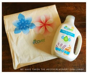 Ecover great washing detergent for the whole fmaily