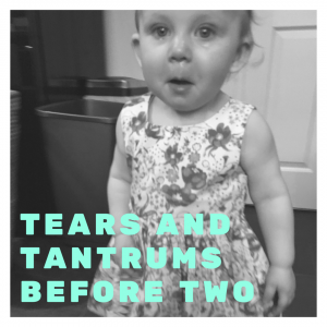 We're experiencing tears, tantrums and general cheekiness from our not even 2 year old !
