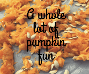 A whole lot of pumpkin fun