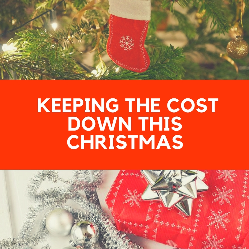 keeping the cost of Christmas down