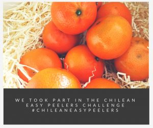 We took part in the Chilean Easy peelers challenge #ChileanEasyPeelers