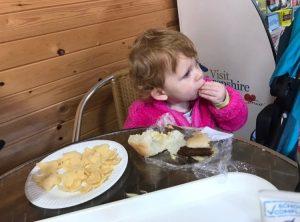 eating at Hoo Farm