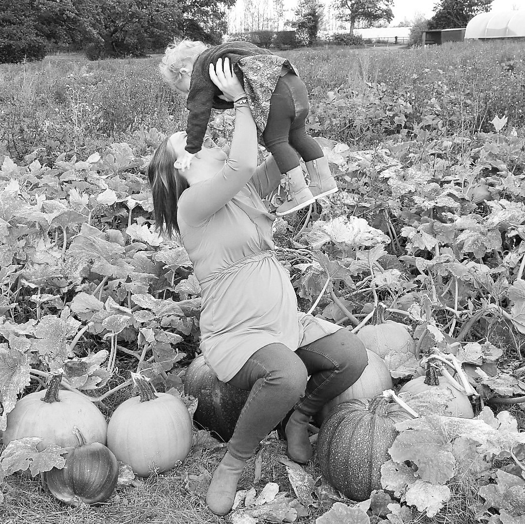 Making memories at the pumpkin patch