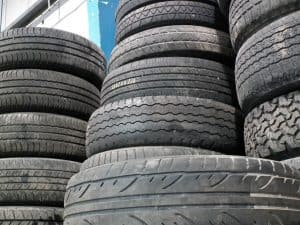 Checking your car tyres
