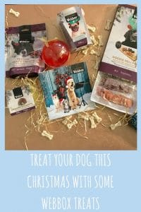 its not just the kids that have a treat at christmas so do the pets with webbox treats