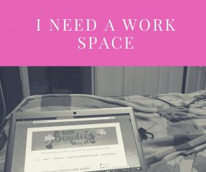 I need my own little work space that isnt my lap
