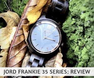 JORD wood watches Frankie 35- Dark Sandalwood And slate : review