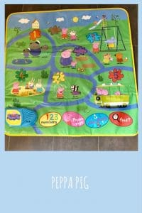 The Peppa pig interactive playmat offers a wide variety of learning opportunties for children