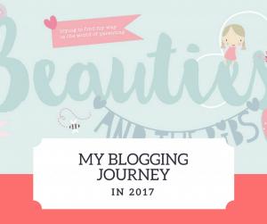 My blogging journey through 2017