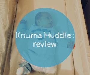 Knuma Huddle making those early baby days easier