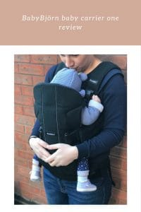 BabyBjörn baby carrier one suitable from birth to 3 years