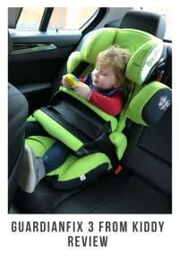 Children's saftey whilst in the car is the most important thing and the Guardianfix 3 ensures your children is both safe and comfortable #review #Guardianfix3 #Kiddy #carsaftey #carseat