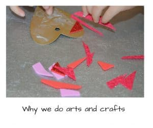 why we do arts and crafts