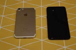 Iphone 7 vs Samsung S8