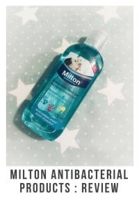 Milton Antibacterial products are great for keeping germs at bay. #antibacterial #milton #cleaning #parenting