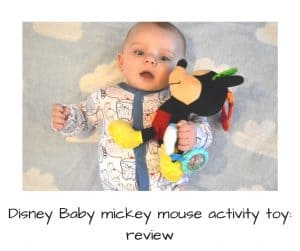 Baby Mickey mouse activity toy : review