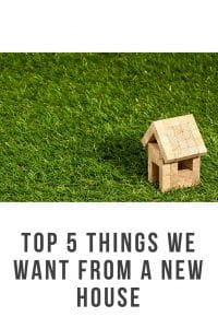With a growing family there are things we need from a house. Here are my top 5 things im looking for #newhouse #growingfamily #movinghouse