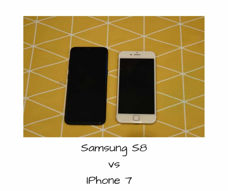 Samsung S8 Iphone 7