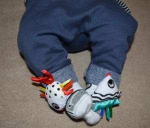 Twiddle Ons foot finder toys