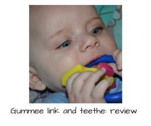 Gummee link and teethe