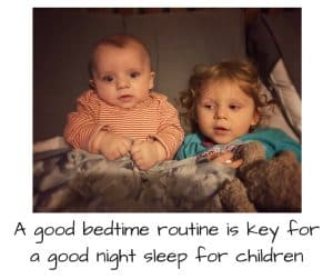 A bedtime routine is so important for children to have a good nights sleep