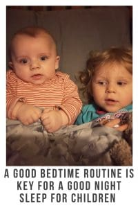 A good bedtime routine is key for a good night sleep for children #bedtime #goodnightsleep #routine #childrenroutine #relaxed #calm #parenting