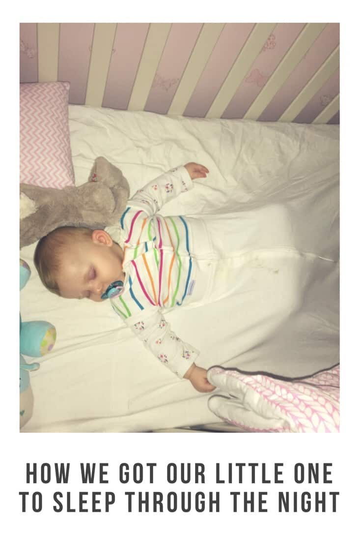 Here are our top tips for getting your children to sleep through the night #sleep #parenting #routine #baby #sleeproutine