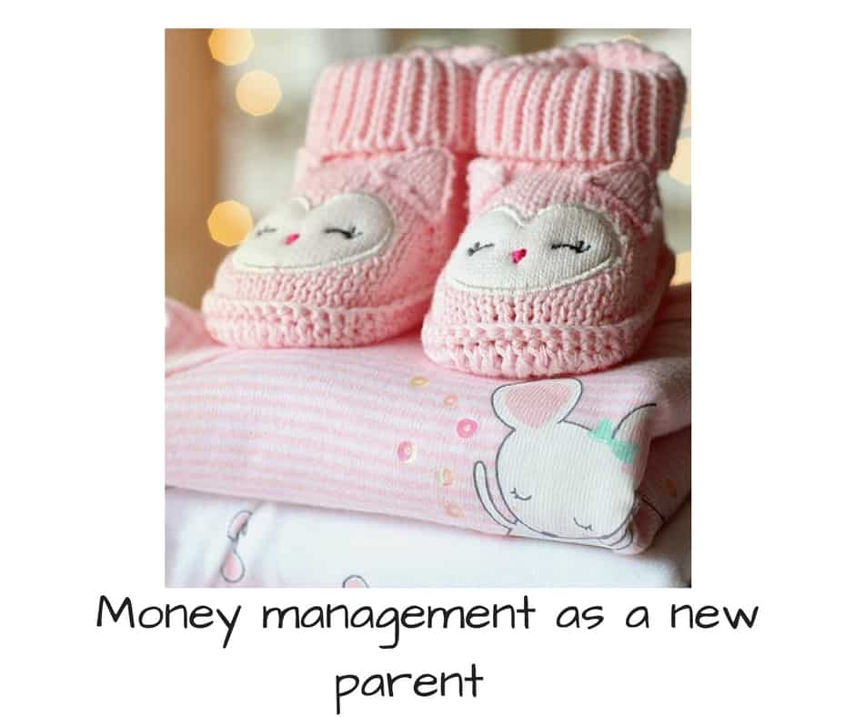 money managment as a new parent