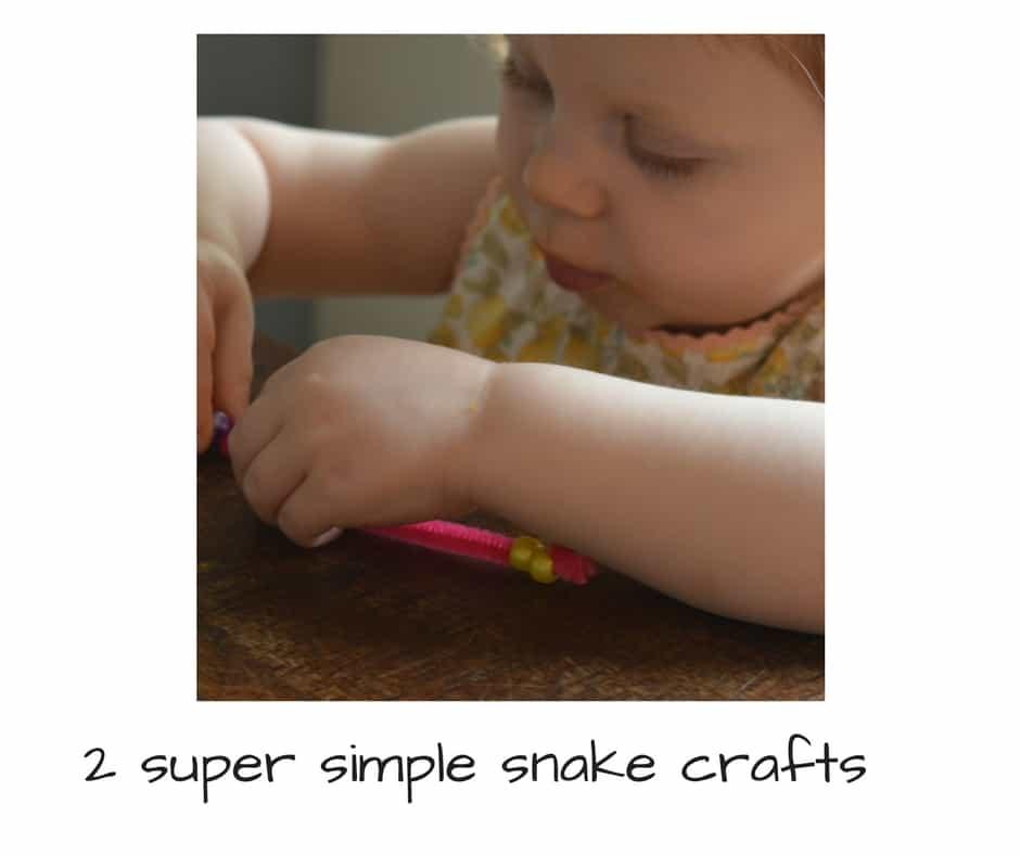 super simple snake crafts
