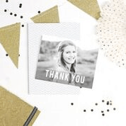 A thank you card from Basic Invite